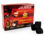 Уголь Al Fakher натуральный из кокосовой скорлупы, 60шт